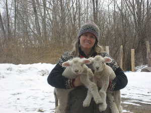 Maine Woman Vows To Protect A Farm, And Its Way Of Life