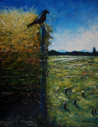 """""""Compost Paintings: The Cycle Of Life"""" Opens At Maine Farmland Trust Gallery"""