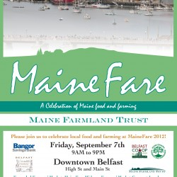 "Maine Farmland Trust To Host ""MaineFare"" Celebration In Belfast"