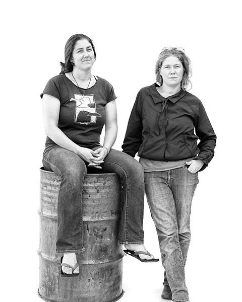 Leah and Marada Cook