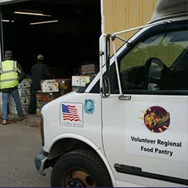 Volunteer Regional Food Pantry