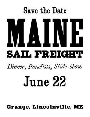 Maine Sail Freight Project Planning Dinner At Tranquility Grange