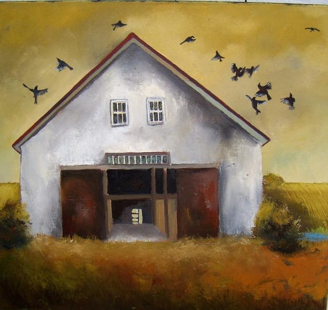 That Ole' Barn: Gallery Exhibit At Maine Farmland Trust