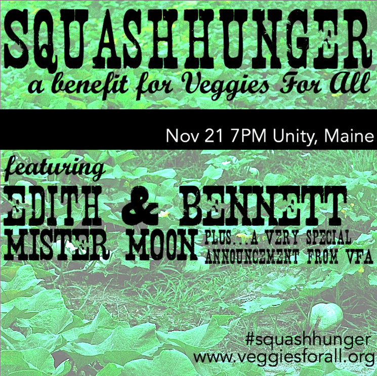 SquashHunger 2014: A Veggies For All Benefit