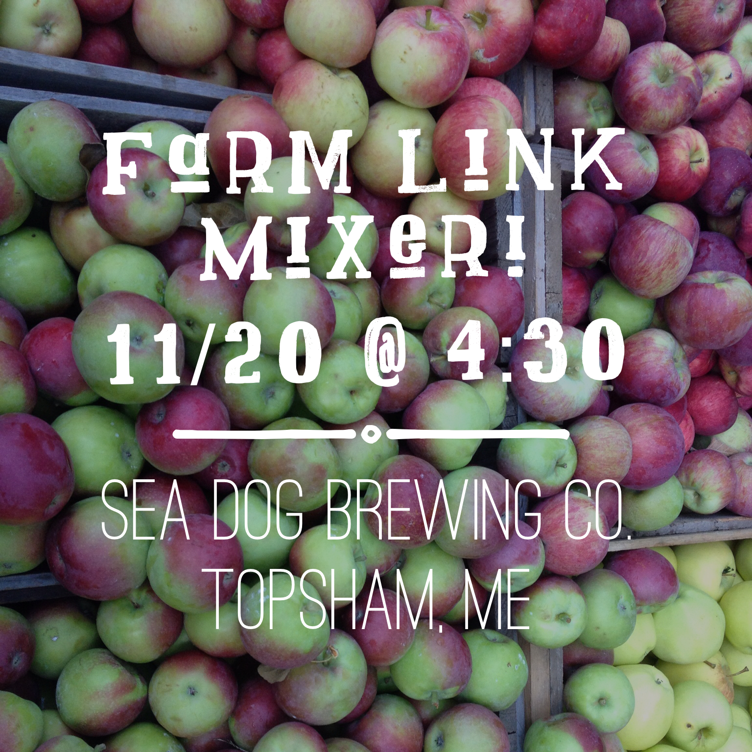 Farm Link Mixer In Topsham!