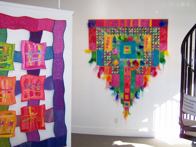 Whimsical Fiber Art Show At Maine Farmland Trust Gallery Delights Young And Old