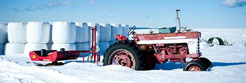 Tractor Winter
