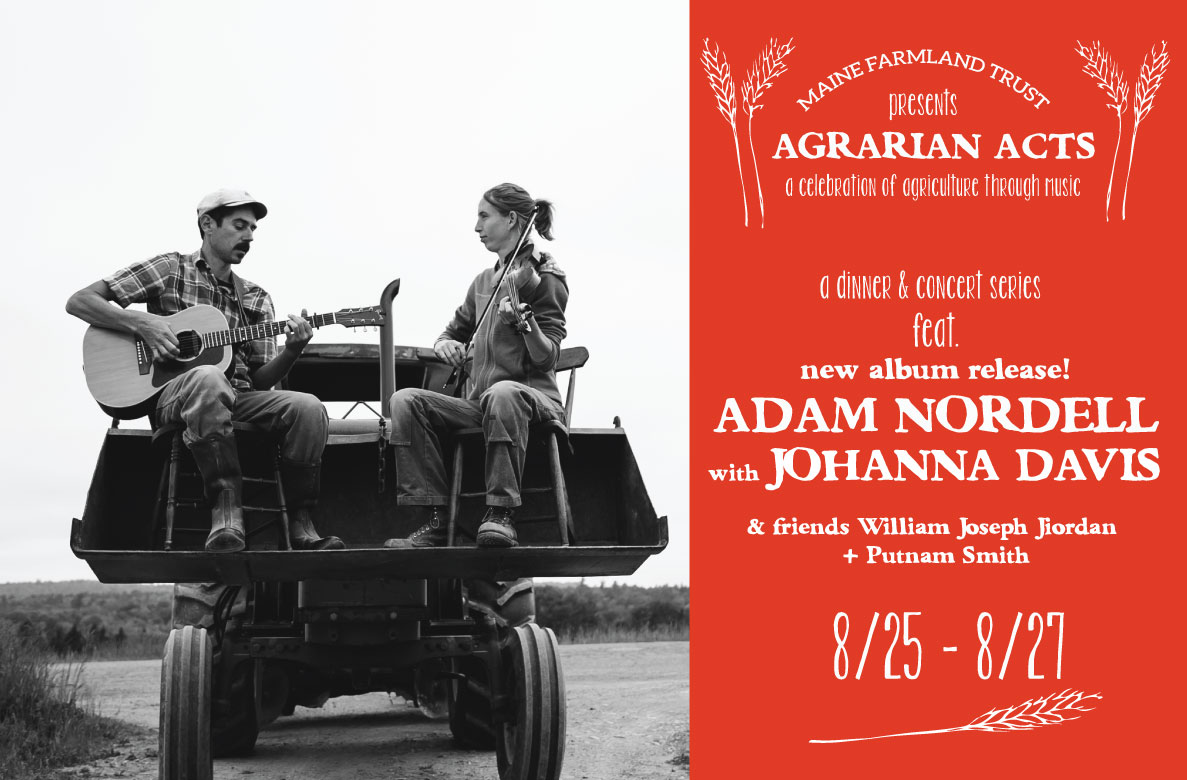 Agrarian Acts: A Celebration Of Agriculture Through Music