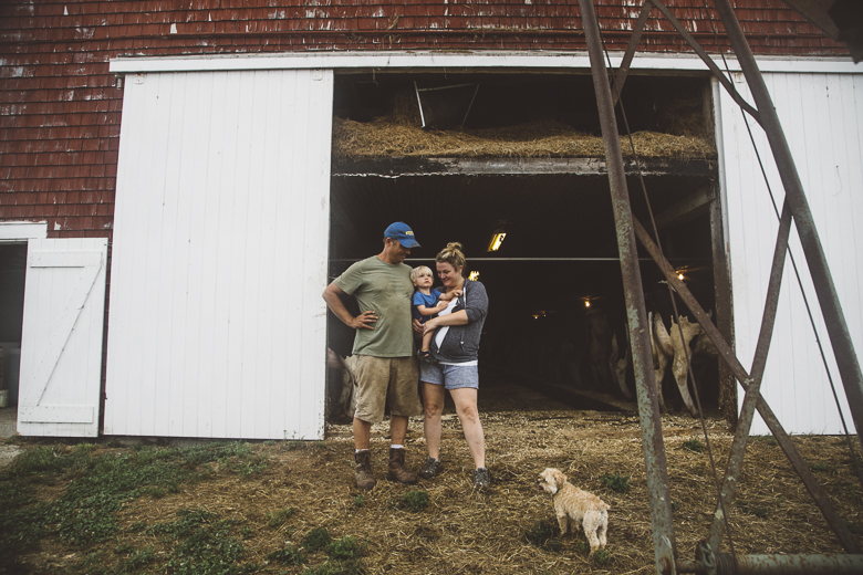Young Dairy Farmers: Sheepscot Valley Dairy Farm