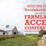2017 Farmland Access Conference Request for Proposals
