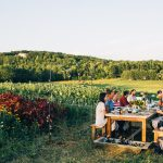 A chance to join Allagash Brewing for dinner at Bumbleroot Organic Farm!