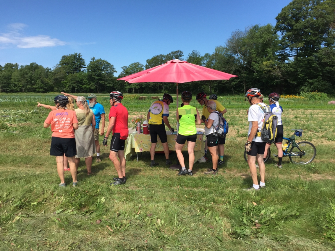 Explore Merrymeeting Bay Farms By Bike On July 22nd