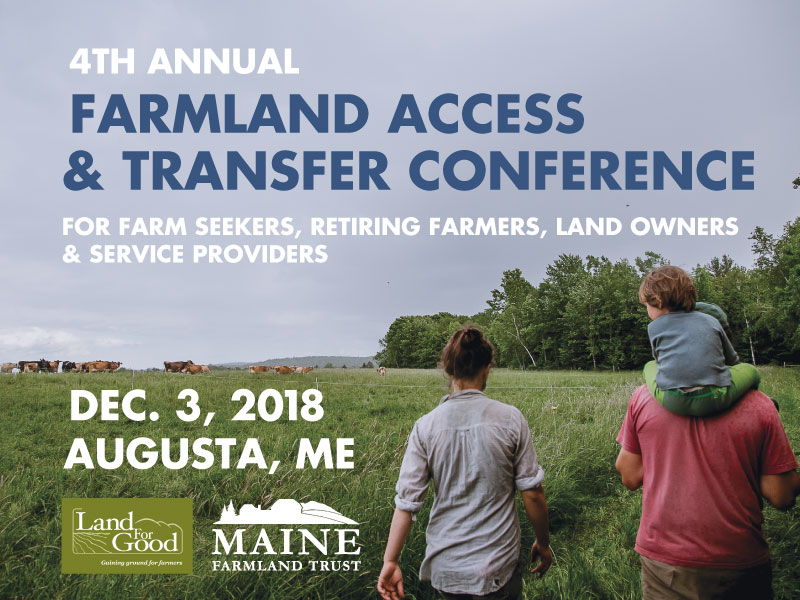 Confronting The Challenges Of Land Access, Farm Transfer, And Next Generation Farmers At The Farmland Access & Transfer Conference