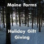 'Tis the season: gifts from Maine farms