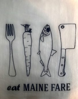 Maine Fare Tea Towel