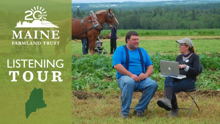 This June: Maine Farms Listening Tour!