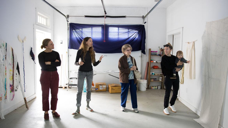 Festive, Family-Friendly Open Studio Day At Fiore Art Center