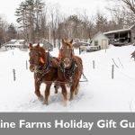 Shop Maine farms this holiday season!