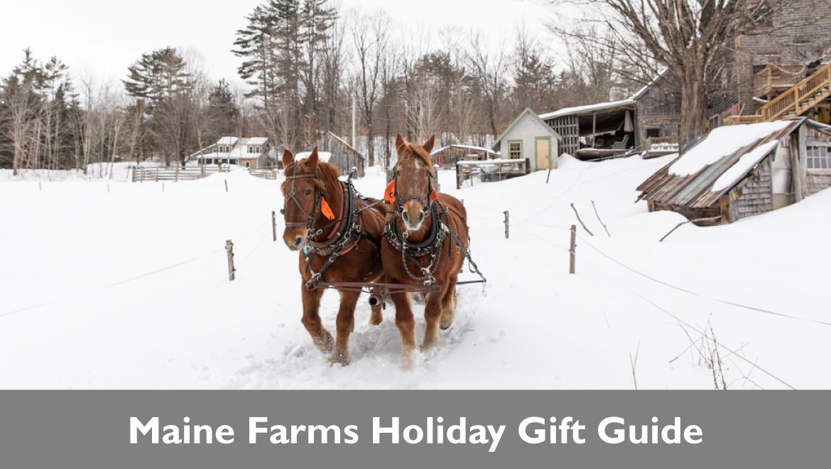 Shop Maine Farms This Holiday Season!