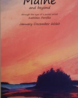 Kathleen Perelka's Pastel Drawings Calendar