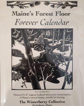 Maine's Forest Floor Forever Calendar