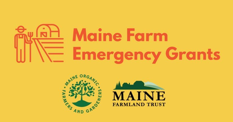 Maine Farm Emergency Grants