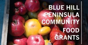 2021 applications are open for Blue Hill Community Food Grants